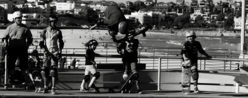 Photos: Skaters of Bondi Beach