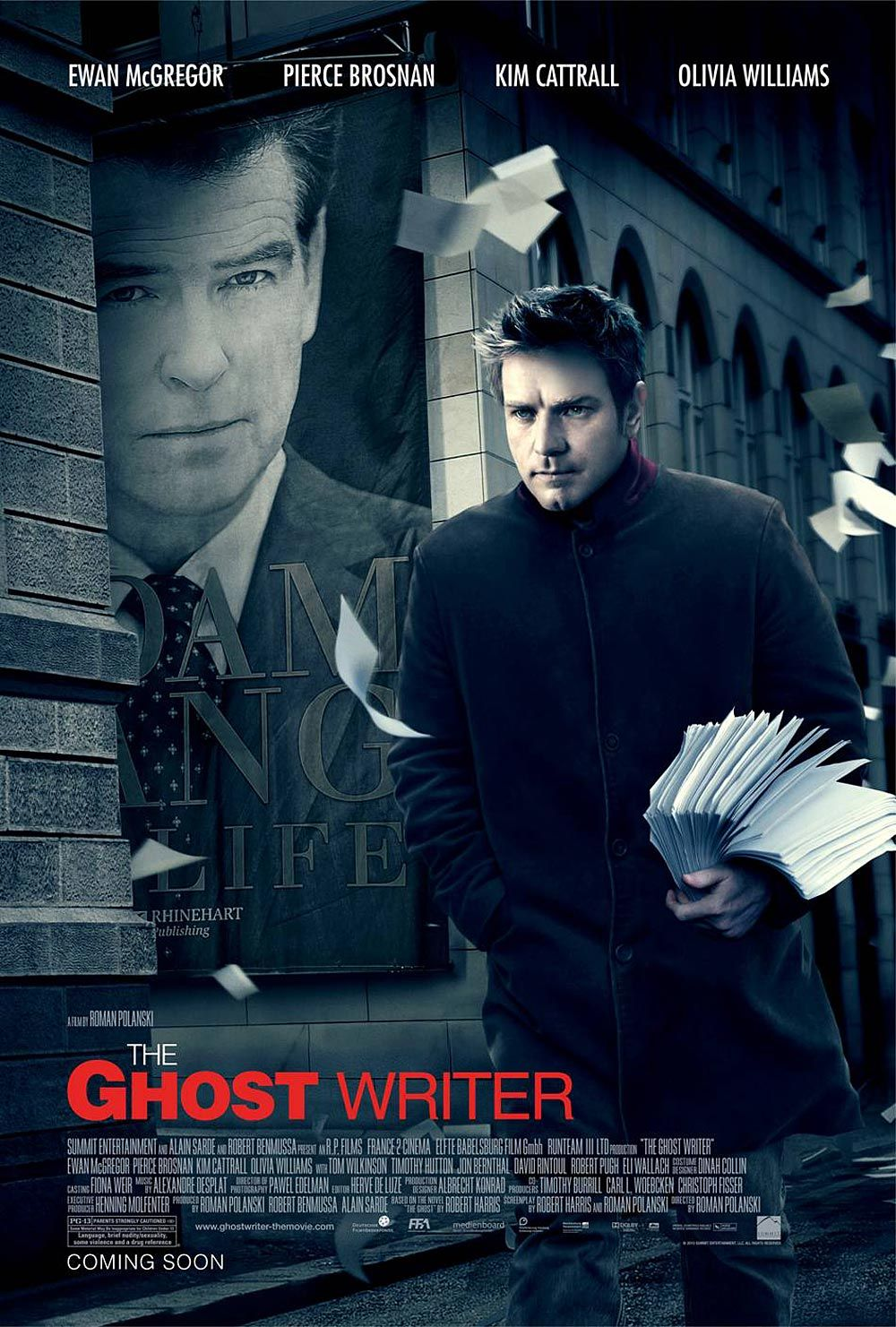The Ghost Writer by Roman Polanski