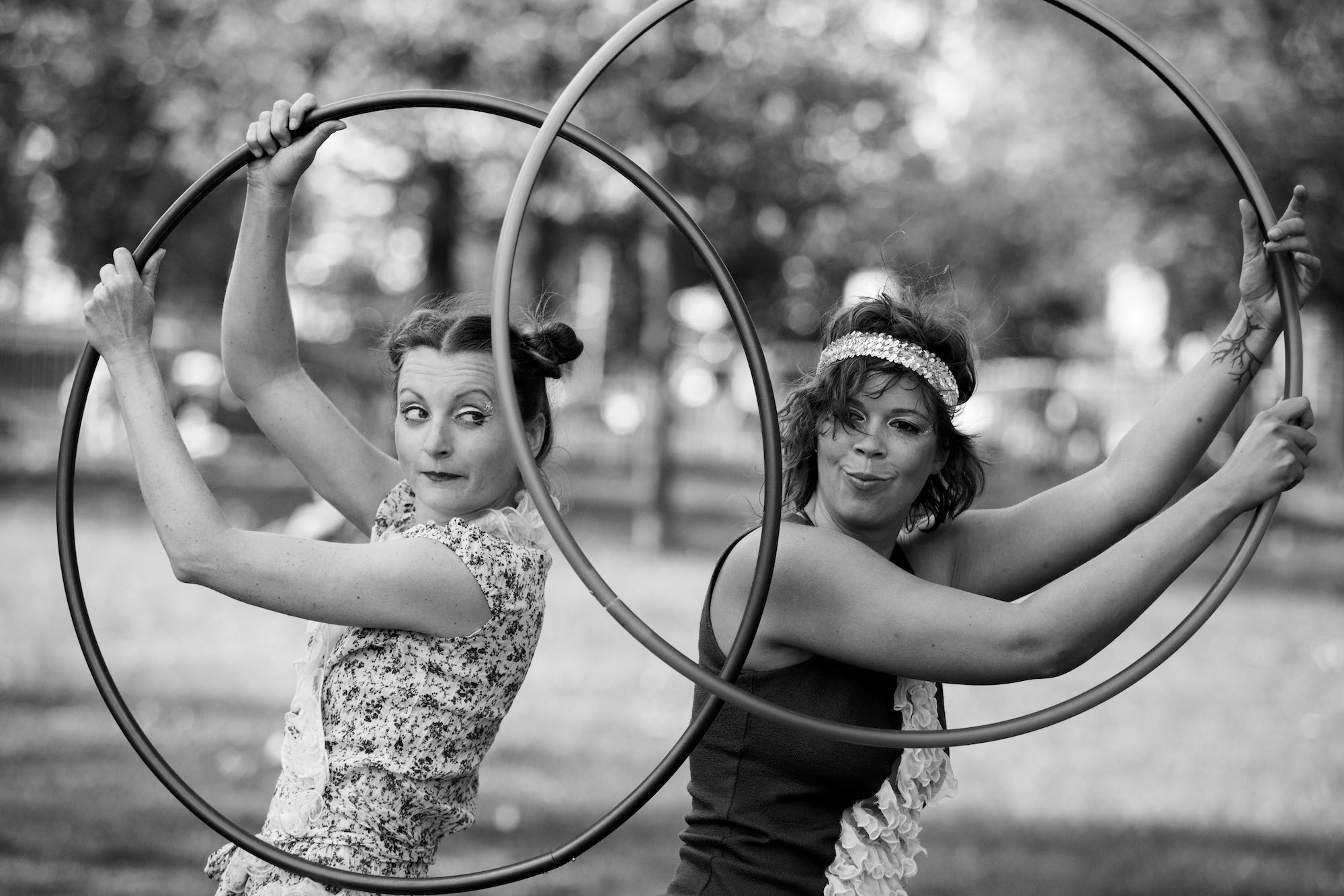 Sally & Kelly - Hula Hoop Performance